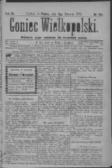 Goniec Wielkopolski: najtańsze pismo codzienne dla wszystkich stanów 1879.08.08 R.3 Nr180