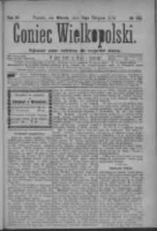 Goniec Wielkopolski: najtańsze pismo codzienne dla wszystkich stanów 1879.08.12 R.3 Nr183