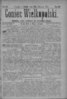 Goniec Wielkopolski: najtańsze pismo codzienne dla wszystkich stanów 1879.08.15 R.3 Nr186