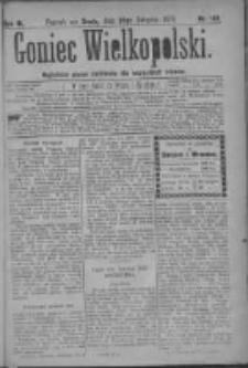 Goniec Wielkopolski: najtańsze pismo codzienne dla wszystkich stanów 1879.08.20 R.3 Nr189