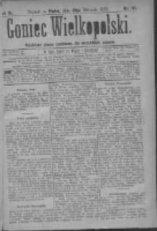 Goniec Wielkopolski: najtańsze pismo codzienne dla wszystkich stanów 1879.08.22 R.3 Nr191