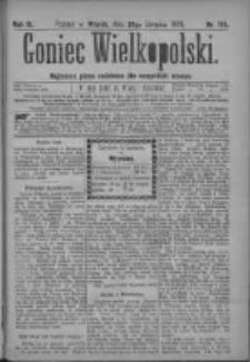 Goniec Wielkopolski: najtańsze pismo codzienne dla wszystkich stanów 1879.08.26 R.3 Nr194
