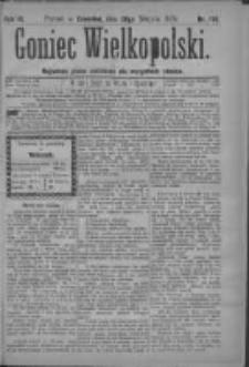 Goniec Wielkopolski: najtańsze pismo codzienne dla wszystkich stanów 1879.08.28 R.3 Nr196