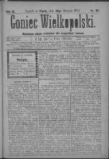 Goniec Wielkopolski: najtańsze pismo codzienne dla wszystkich stanów 1879.08.29 R.3 Nr197