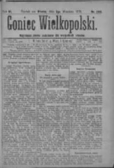 Goniec Wielkopolski: najtańsze pismo codzienne dla wszystkich stanów 1879.09.02 R.3 Nr200