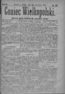 Goniec Wielkopolski: najtańsze pismo codzienne dla wszystkich stanów 1879.09.05 R.3 Nr201