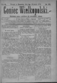 Goniec Wielkopolski: najtańsze pismo codzienne dla wszystkich stanów 1879.09.04 R.3 Nr202