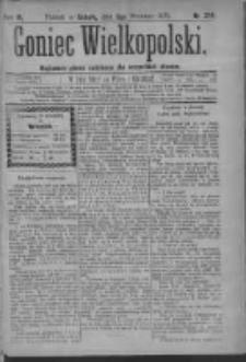 Goniec Wielkopolski: najtańsze pismo codzienne dla wszystkich stanów 1879.09.06 R.3 Nr204