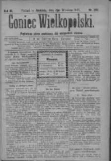 Goniec Wielkopolski: najtańsze pismo codzienne dla wszystkich stanów 1879.09.07 R.3 Nr205