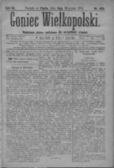 Goniec Wielkopolski: najtańsze pismo codzienne dla wszystkich stanów 1879.09.12 R.3 Nr208
