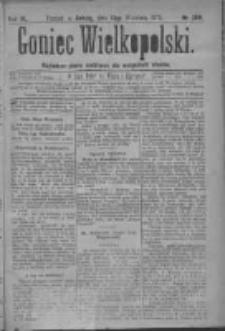 Goniec Wielkopolski: najtańsze pismo codzienne dla wszystkich stanów 1879.09.13 R.3 Nr209