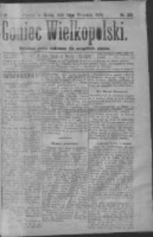 Goniec Wielkopolski: najtańsze pismo codzienne dla wszystkich stanów 1879.09.17 R.3 Nr212