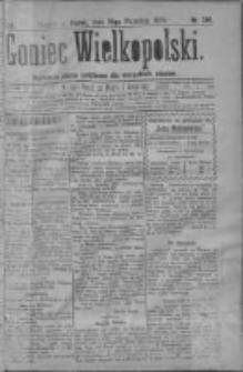 Goniec Wielkopolski: najtańsze pismo codzienne dla wszystkich stanów 1879.09.19 R.3 Nr214