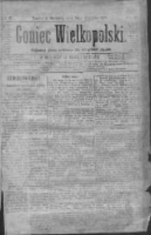 Goniec Wielkopolski: najtańsze pismo codzienne dla wszystkich stanów 1879.09.21 R.3 Nr216