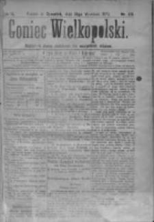 Goniec Wielkopolski: najtańsze pismo codzienne dla wszystkich stanów 1879.09.25 R.3 Nr219