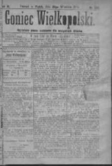 Goniec Wielkopolski: najtańsze pismo codzienne dla wszystkich stanów 1879.09.26 R.3 Nr220