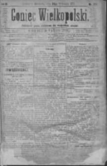 Goniec Wielkopolski: najtańsze pismo codzienne dla wszystkich stanów 1879.09.28 R.3 Nr222