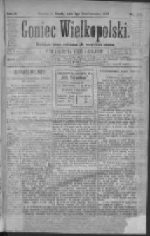 Goniec Wielkopolski: najtańsze pismo codzienne dla wszystkich stanów 1879.10.01 R.3 Nr224