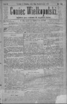 Goniec Wielkopolski: najtańsze pismo codzienne dla wszystkich stanów 1879.10.11 R.3 Nr233