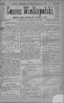 Goniec Wielkopolski: najtańsze pismo codzienne dla wszystkich stanów 1879.10.12 R.3 Nr234