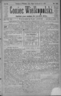 Goniec Wielkopolski: najtańsze pismo codzienne dla wszystkich stanów 1879.10.14 R.3 Nr235