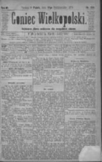 Goniec Wielkopolski: najtańsze pismo codzienne dla wszystkich stanów 1879.10.17 R.3 Nr238
