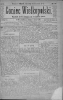Goniec Wielkopolski: najtańsze pismo codzienne dla wszystkich stanów 1879.10.21 R.3 Nr241