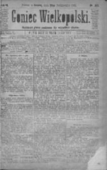 Goniec Wielkopolski: najtańsze pismo codzienne dla wszystkich stanów 1879.10.25 R.3 Nr245