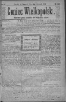 Goniec Wielkopolski: najtańsze pismo codzienne dla wszystkich stanów 1879.11.06 R.3 Nr254