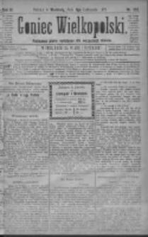 Goniec Wielkopolski: najtańsze pismo codzienne dla wszystkich stanów 1879.11.09 R.3 Nr257