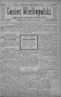 Goniec Wielkopolski: najtańsze pismo codzienne dla wszystkich stanów 1879.11.11 R.3 Nr258