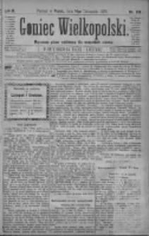 Goniec Wielkopolski: najtańsze pismo codzienne dla wszystkich stanów 1879.11.14 R.3 Nr261