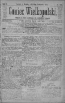 Goniec Wielkopolski: najtańsze pismo codzienne dla wszystkich stanów 1879.11.15 R.3 Nr262