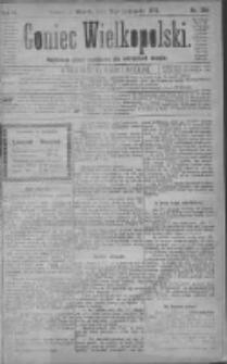 Goniec Wielkopolski: najtańsze pismo codzienne dla wszystkich stanów 1879.11.18 R.3 Nr264