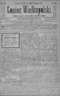 Goniec Wielkopolski: najtańsze pismo codzienne dla wszystkich stanów 1879.11.19 R.3 Nr265