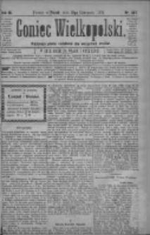 Goniec Wielkopolski: najtańsze pismo codzienne dla wszystkich stanów 1879.11.21 R.3 Nr267