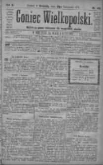 Goniec Wielkopolski: najtańsze pismo codzienne dla wszystkich stanów 1879.11.23 R.3 Nr269