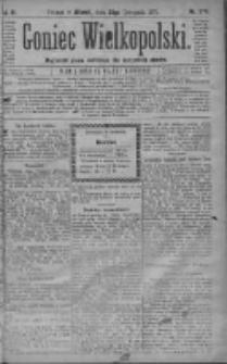 Goniec Wielkopolski: najtańsze pismo codzienne dla wszystkich stanów 1879.11.25 R.3 Nr270