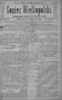 Goniec Wielkopolski: najtańsze pismo codzienne dla wszystkich stanów 1879.11.26 R.3 Nr271