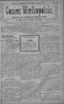Goniec Wielkopolski: najtańsze pismo codzienne dla wszystkich stanów 1879.11.27 R.3 Nr272