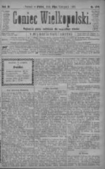 Goniec Wielkopolski: najtańsze pismo codzienne dla wszystkich stanów 1879.11.28 R.3 Nr273