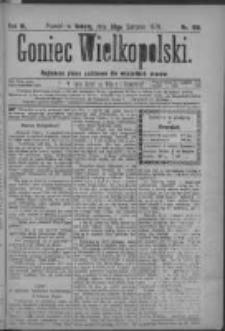 Goniec Wielkopolski: najtańsze pismo codzienne dla wszystkich stanów 1879.08.30 R.3 Nr198
