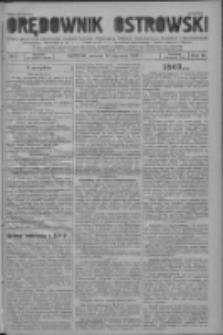 Orędownik Ostrowski: pismo na powiat ostrowski i miasto Ostrów, Odolanów, Mikstat, Sulmierzyce, Raszków i Skalmierzyce 1937.01.19 R.86 Nr6