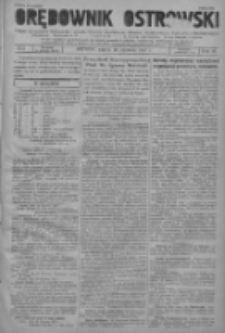 Orędownik Ostrowski: pismo na powiat ostrowski i miasto Ostrów, Odolanów, Mikstat, Sulmierzyce, Raszków i Skalmierzyce 1937.01.29 R.86 Nr9