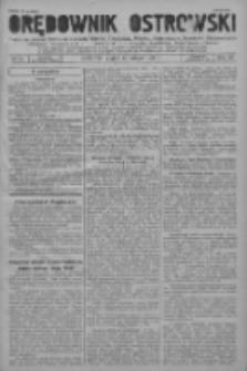 Orędownik Ostrowski: pismo na powiat ostrowski i miasto Ostrów, Odolanów, Mikstat, Sulmierzyce, Raszków i Skalmierzyce 1937.02.12 R.86 Nr13