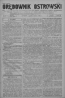 Orędownik Ostrowski: pismo na powiat ostrowski i miasto Ostrów, Odolanów, Mikstat, Sulmierzyce, Raszków i Skalmierzyce 1937.03.05 R.86 Nr19