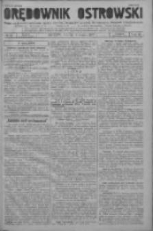 Orędownik Ostrowski: pismo na powiat ostrowski i miasto Ostrów, Odolanów, Mikstat, Sulmierzyce, Raszków i Skalmierzyce 1937.03.16 R.86 Nr22