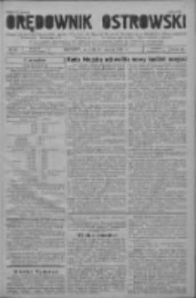 Orędownik Ostrowski: pismo na powiat ostrowski i miasto Ostrów, Odolanów, Mikstat, Sulmierzyce, Raszków i Skalmierzyce 1937.03.23 R.86 Nr24