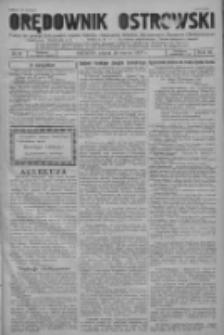 Orędownik Ostrowski: pismo na powiat ostrowski i miasto Ostrów, Odolanów, Mikstat, Sulmierzyce, Raszków i Skalmierzyce 1937.03.26 R.86 Nr25
