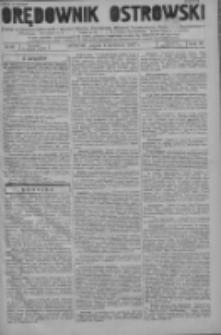 Orędownik Ostrowski: pismo na powiat ostrowski i miasto Ostrów, Odolanów, Mikstat, Sulmierzyce, Raszków i Skalmierzyce 1937.04.09 R.86 Nr29